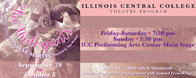 Arts@ICC Theater Season Opens Sept 29