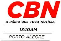 Rádio CBN AM de Porto Alegre RS ao vivo