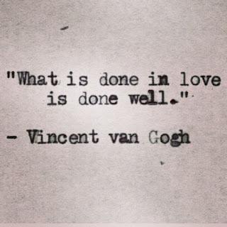 Frase de Van Gogh