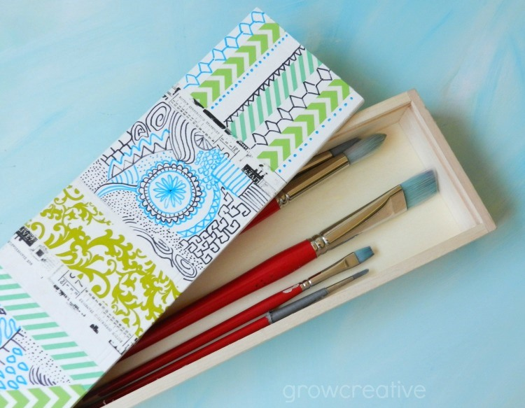 Paintbrush Box: Grow Creative