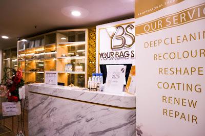 Review : Bag & Shoes Treatment at your Bag Spa Pakuwon Mall Surabaya