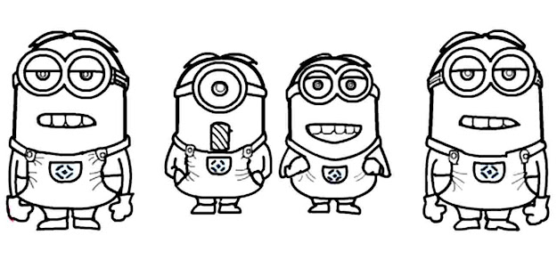 Minion Coloring Pages Bob With Best Minions Page Ace And Wallpaper