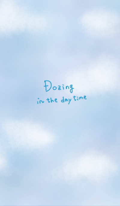 Dozing in the day time