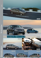 2012 New Generation Mercedes-Benz B-Class W246 Official Photo