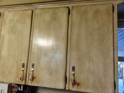 Iowa Farmerz Wife How To Make Cabinet Handles From Silverware
