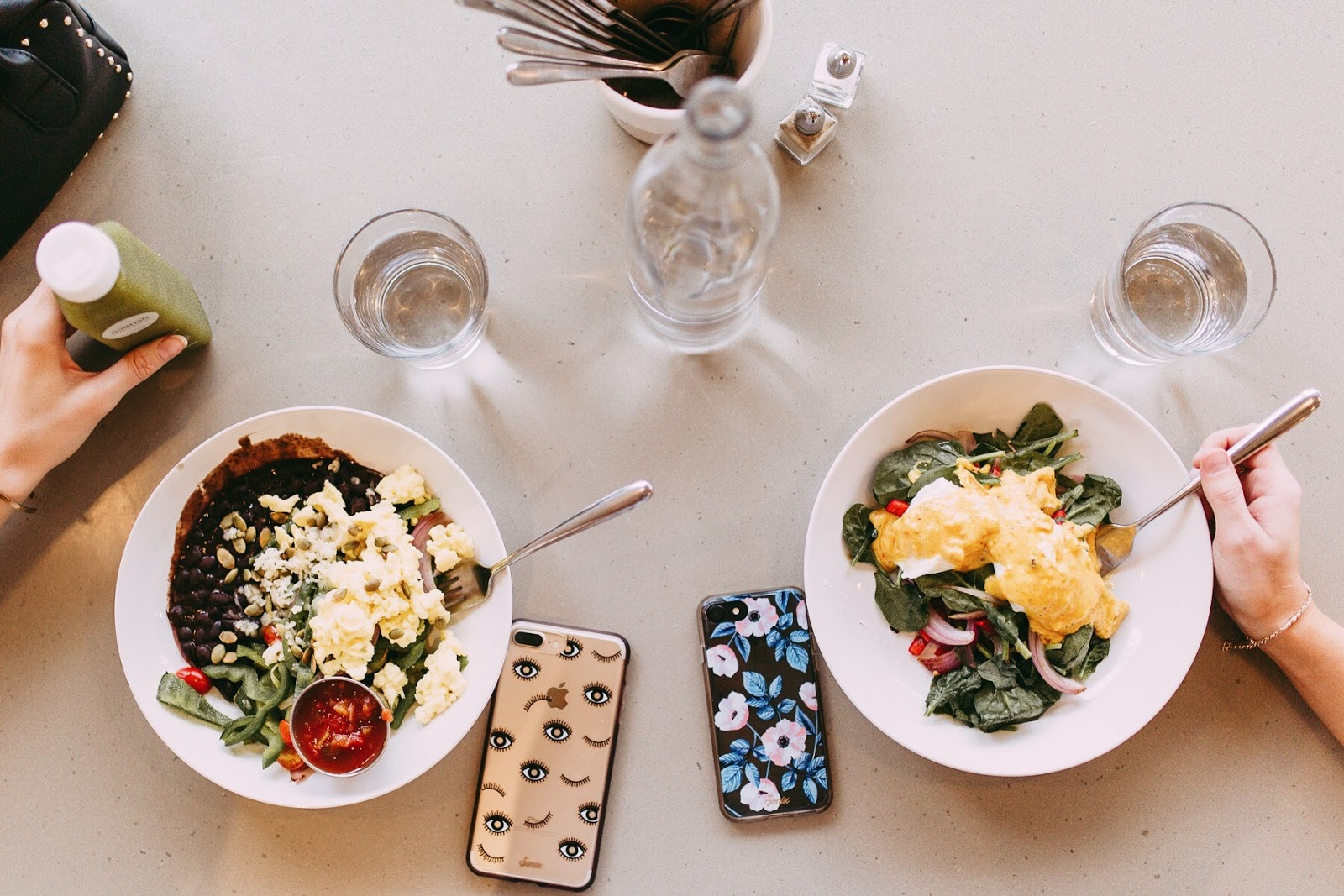 Healthy breakfast / Nourish Cafe in Columbia, MO