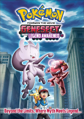 Pokémon Movie Genesect and the Legend Awakened Mewtwo MegaEvolution Anime Pokémon X&Y