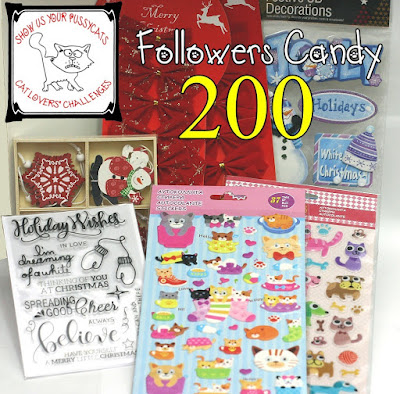 200 FURRY FOLLOWERS CANDY