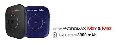 Perbedaan Andromax M3Y dan M3Z Modem 4G LTE