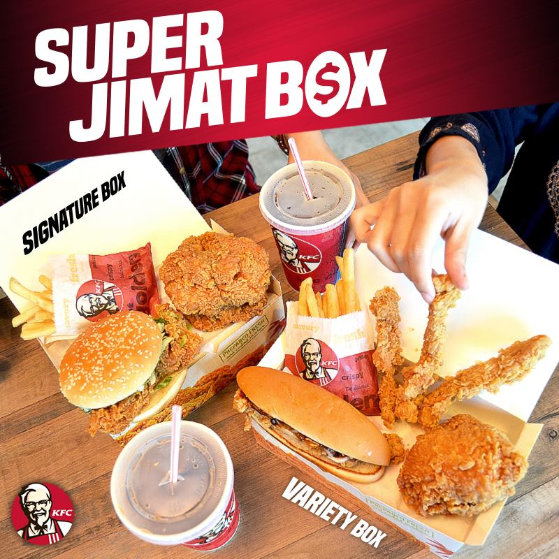 KFC New Super Jimat Box - f i n d i n g // f a t s