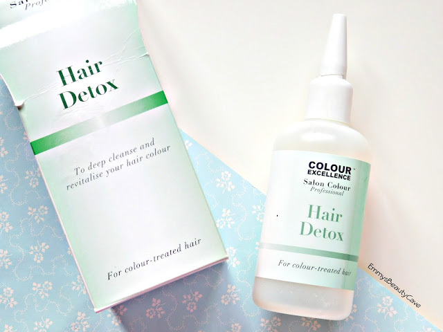 Colour Excellence Hair Detox review