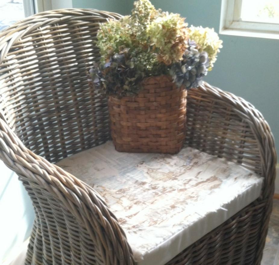 Kooboo Wicker Chair: Cindy's Fractured Fairy Tale: Kooboo Chairs And A Really