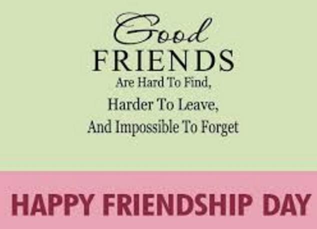Friendship Day Short Lines