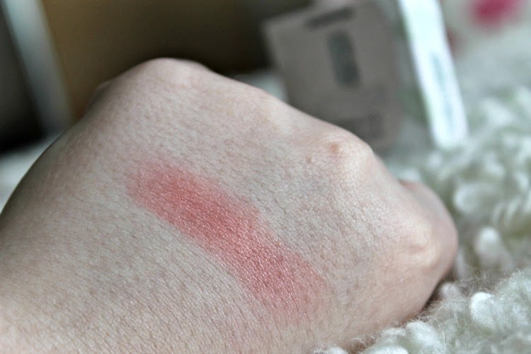 Clinique Cheek Pop in Peach Pop Swatched