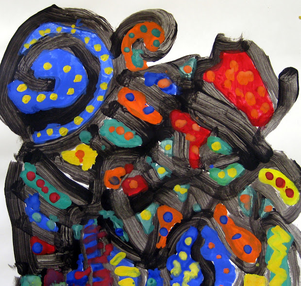 Cassie Stephens In Artroom Abstract Painting And