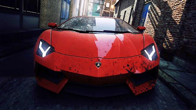 Lamborguini aventador vermelha Download sports car wallpapers