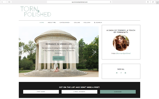 NEW SITE! GO TO  | TORN + POLISHED