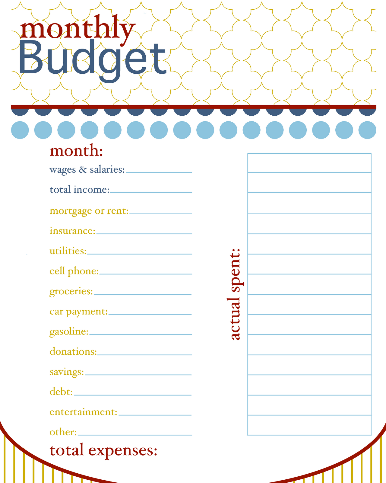 Finance A Single Parent S View Creating A Monthly Budget