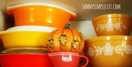 fall Pyrex