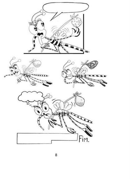 Cómic sobre el dengue