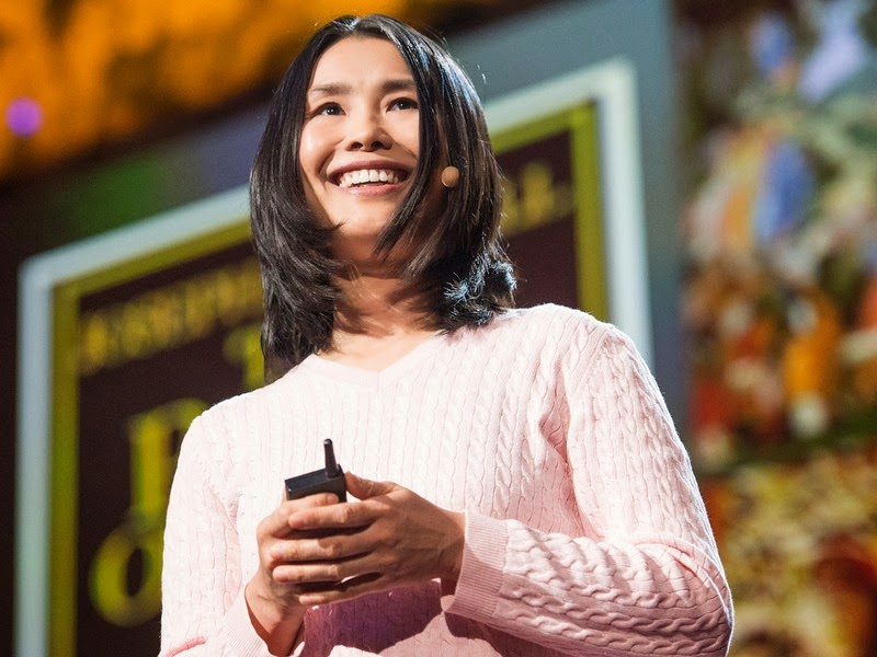 Lisa Bu's TED talk on books and bibliotherapy