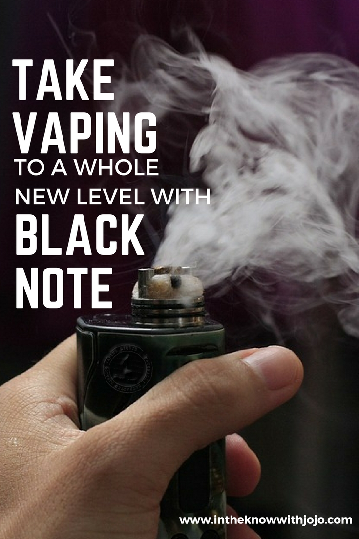 Do you smoke or vape? If you smoke have you ever considered vaping? Vaping is so much easier and user friendly for you and the ones around you. So take vaping to a whole new level with black note!