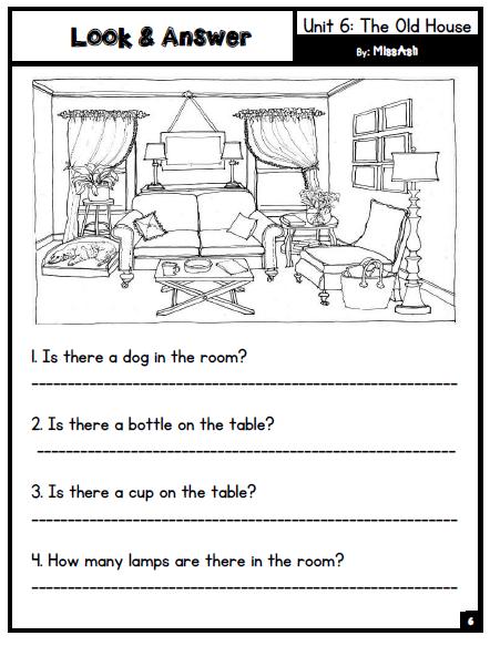 ASH THE TEACHER: Unit 5: Free time & Unit 6: The old house