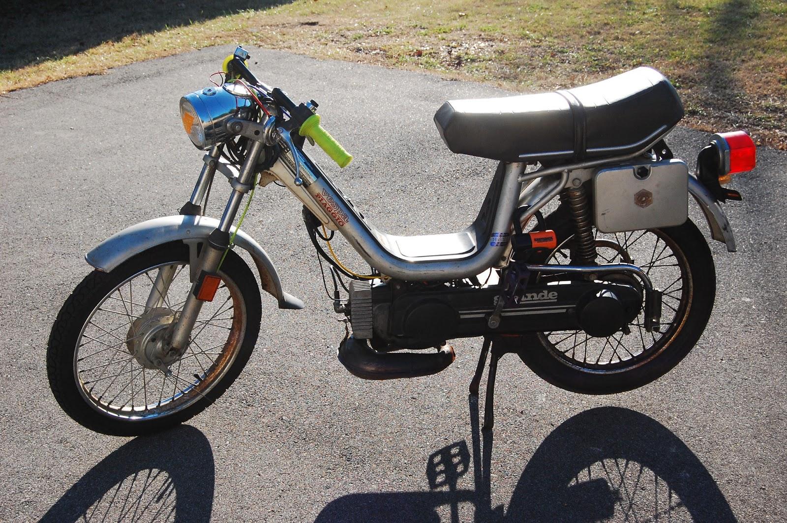 Vespa Grande Moped Manual