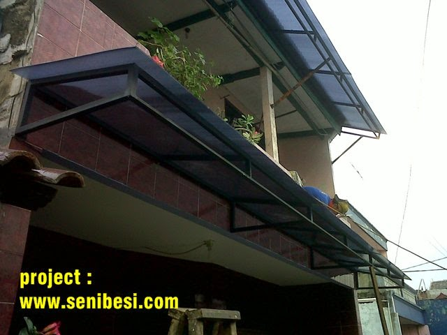 kanopi baja ringan tanpa tiang penyangga canopy carport,kanopi: tiang,minimalis,model ...