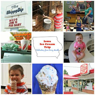 Iowa Ice Cream Road Trip - Decorah, Hudson, LeMars, Mason City, Des Moines, Iowa City, Ventura, Osage