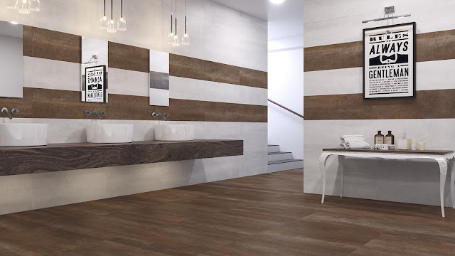 Home tiles design of Shanon series - Industrial style