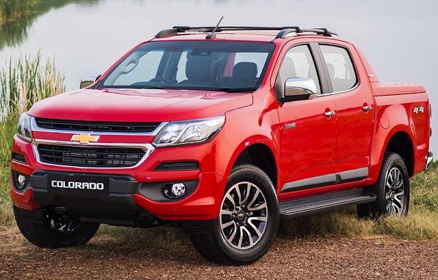 Chevrolet Colorado Facelift