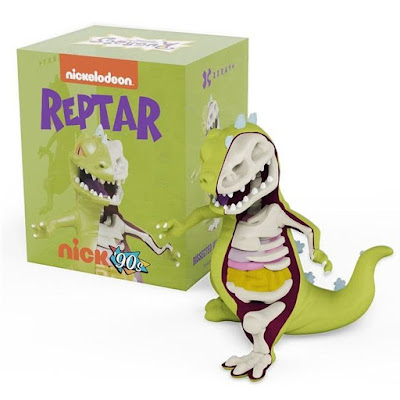 "San Diego Comic-Con 2018 Exclusive Rugrats Reptar XXRAY 8"" Vinyl Figure by Jason Freeny x Mighty Jaxx x FYE x Nickelodeon"