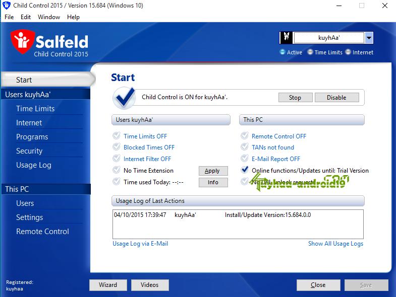 Salfeld Child Control 15.684