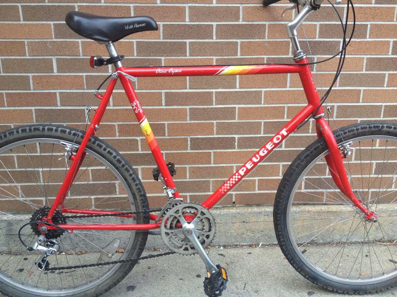 Bike Boom refurbished bikes: Peugeot Orient Express Mountain