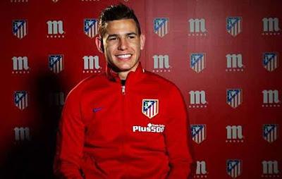 Lucas Hernández futbolista atletico madrid detenido  por, presuntamente pegar a su novia