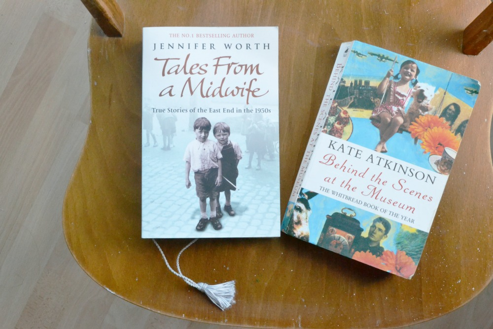 currently reading yarn along call the midwife paperbacks