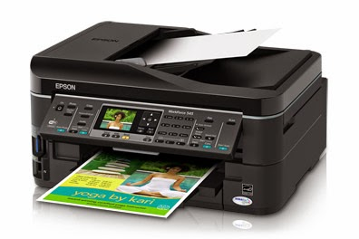 re-create or fax your documents chop-chop amongst the Epson Workforce  Download Epson WorkForce 545 Printer Driver