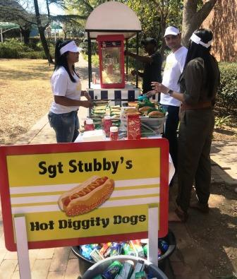 Sgt Stubby's Hot Diggity Dogs stand