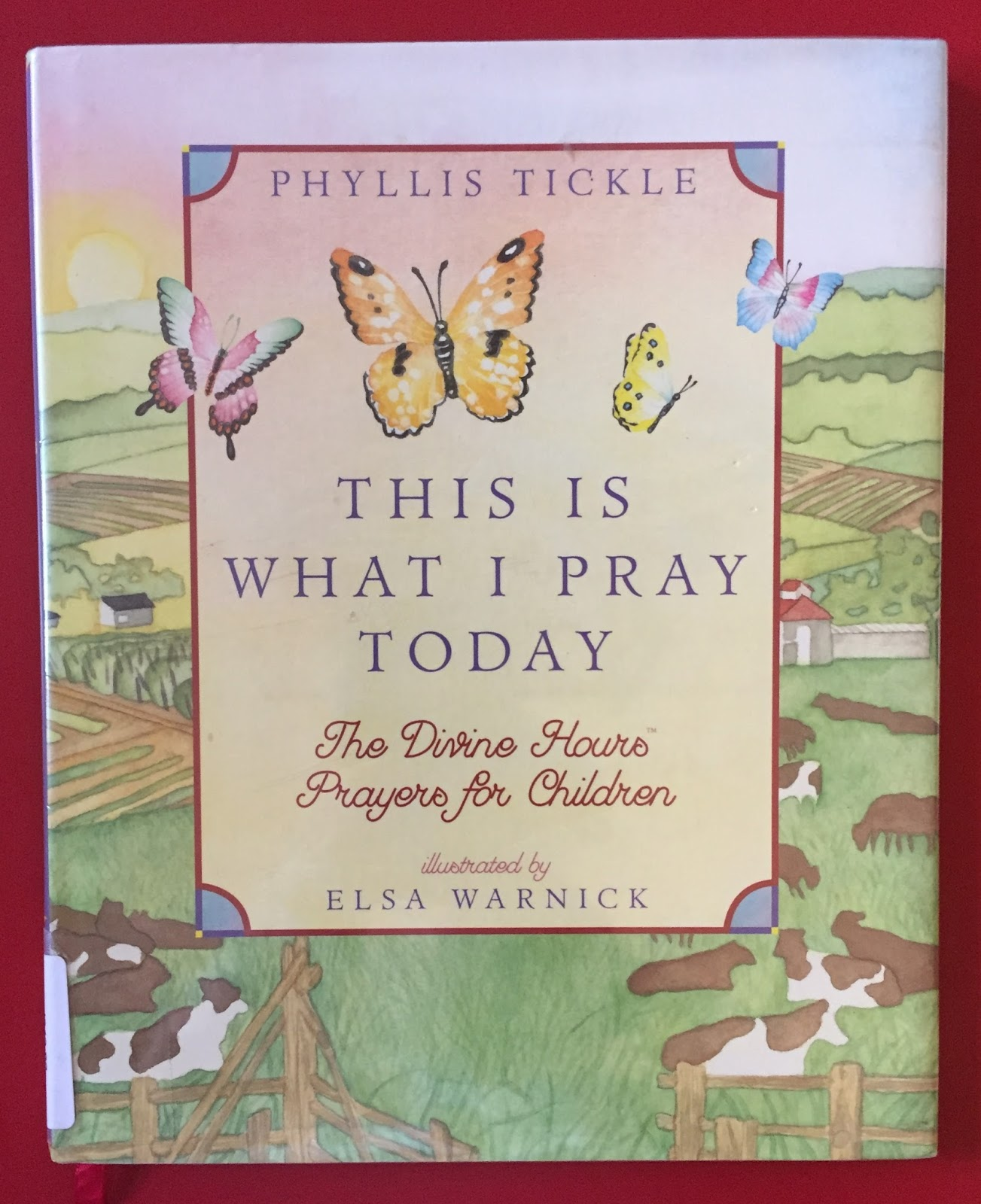 picture book theology the divine hours for children