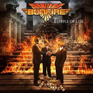 "Το lyric video των Bonfire για το ""Crazy Over You"" από το album ""Temple Of Lies"""