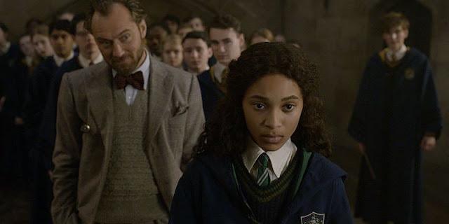 Албус Дъмбълдор и Лита Лестранж във Фантастични животни: Престъпленията на Гринделвалд