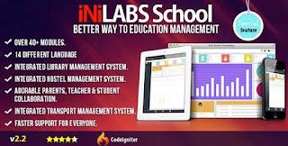 Download Inilabs v2.2 – School Management System Express