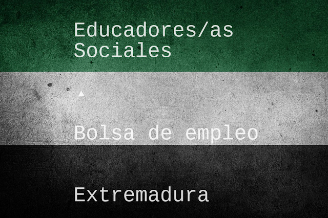 Educadores/as sociales en Extremadura