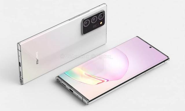 تسريب يكشف عن مواصفات كاميرات +Galaxy Note 20 المرتقب