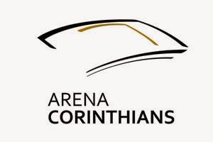 corinthians lan231a novo logo para divulgar arena