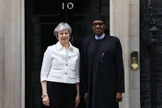 British Prime Minister And Buhari