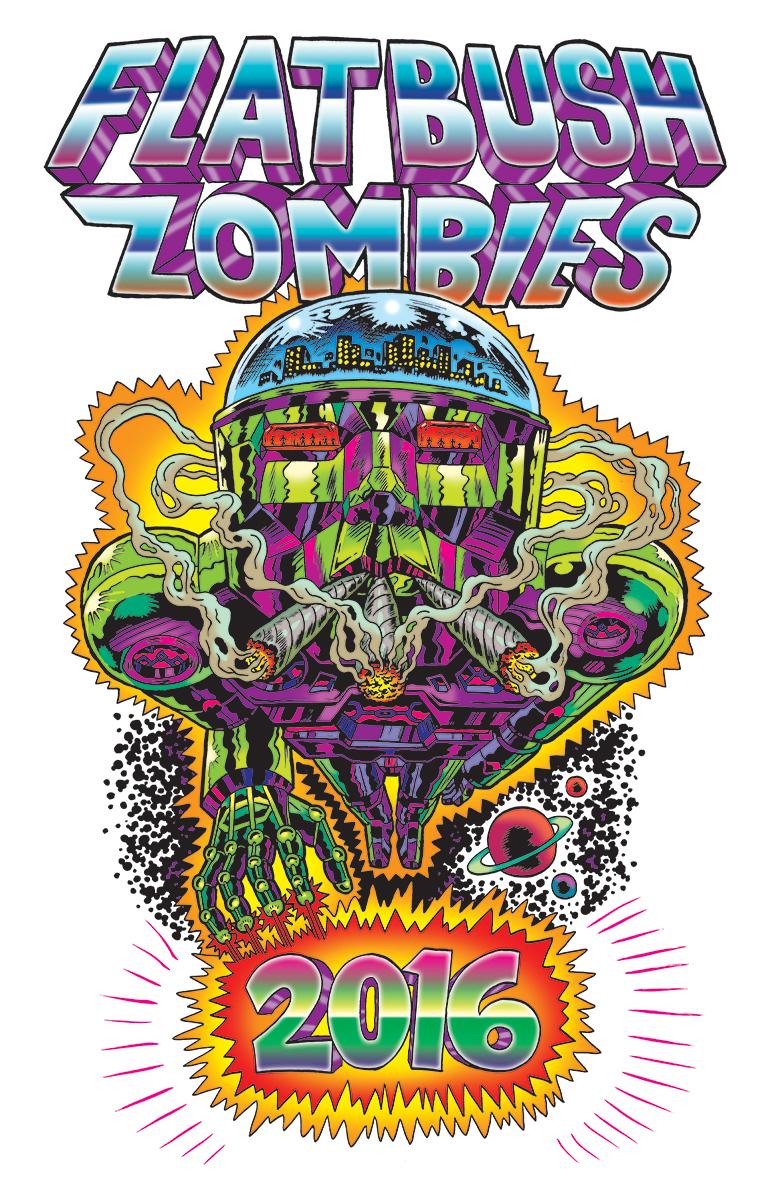 Shirt design blog - Flatbush Zombies T Shirt Design