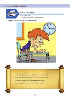 Psikoloji Ders Kitabı Cevapları Tekno Artı Yayınları Sayfa 12