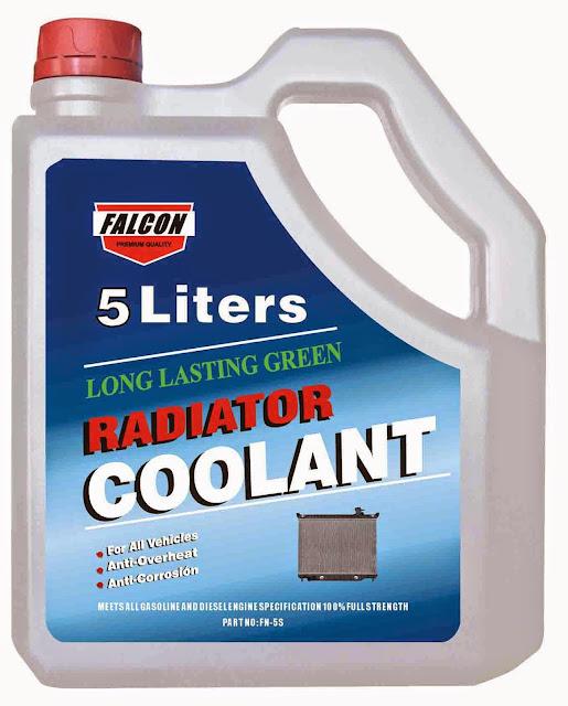 Radiator colorant